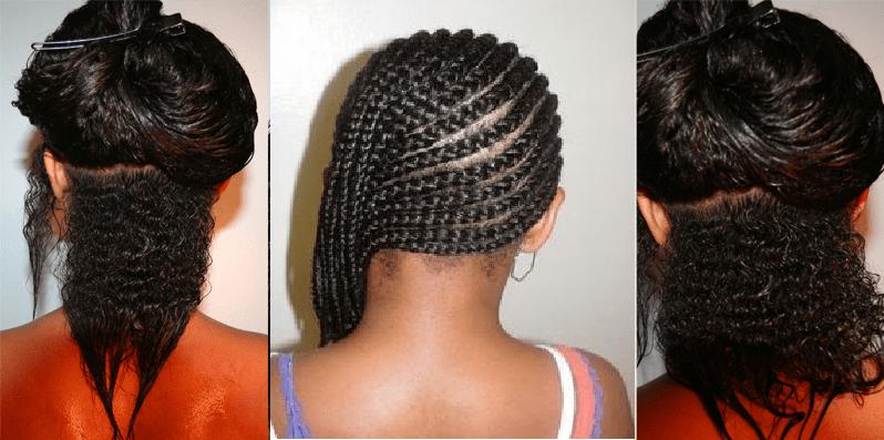 how do your hair grow in braids how fast does hair grow