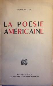 Villard, la poésie américaine