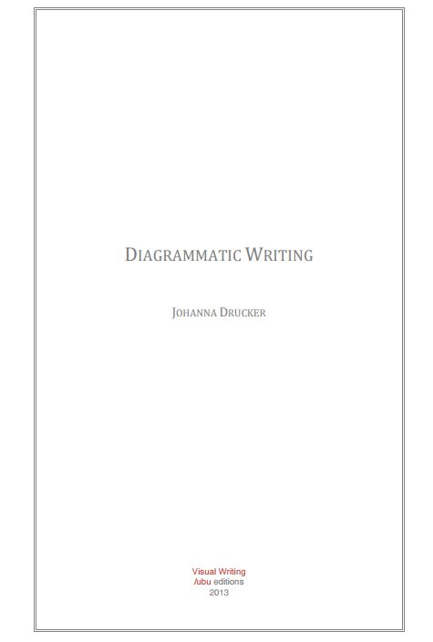 Diagrammatic Writing Book