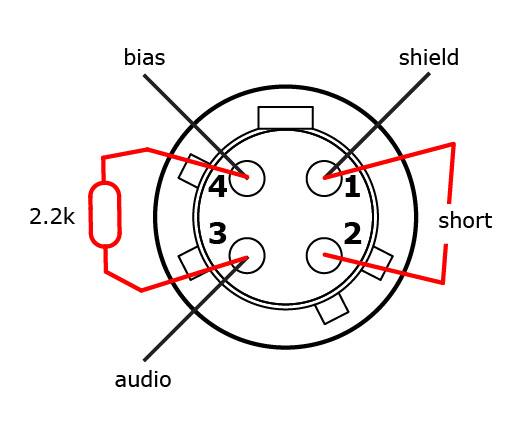 audio technica 4 pin wiring