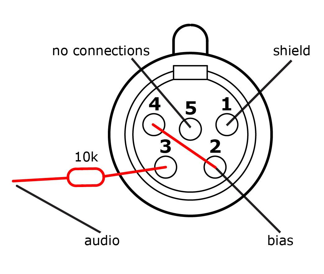 5pin xlr to network wiring diagram
