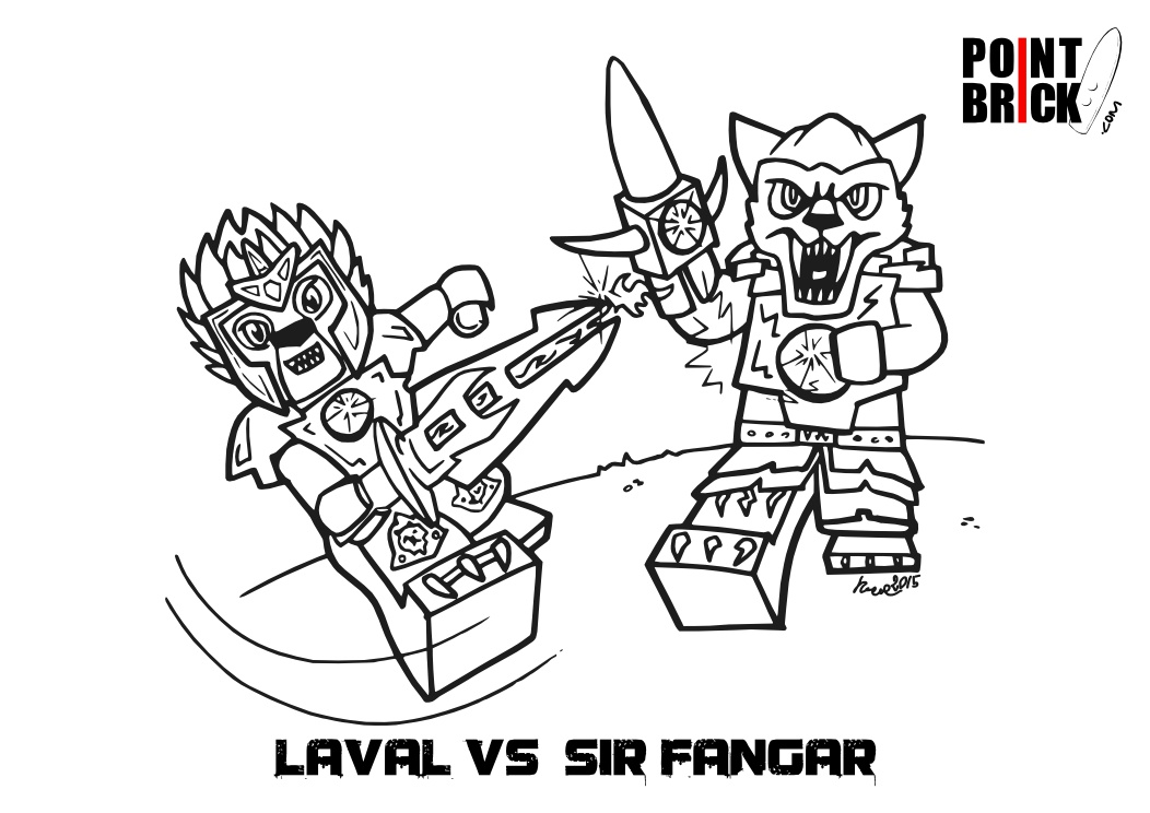 Lego Chima Coloring Pages - Democraciaejustica