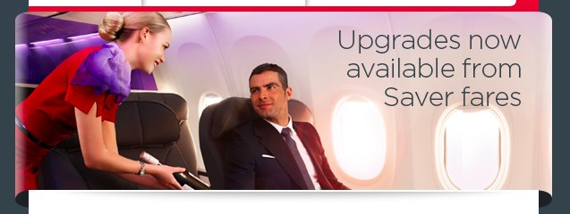 Virgin Saver Upgrades