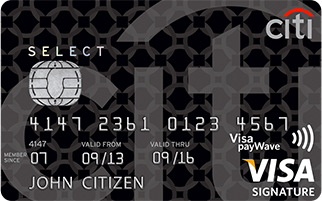 Citibank Select Visa