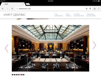 hyatt centric paris