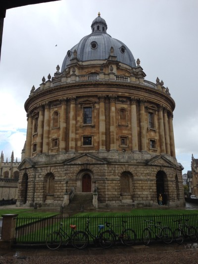 Sheldonian Theatre at Oxford University