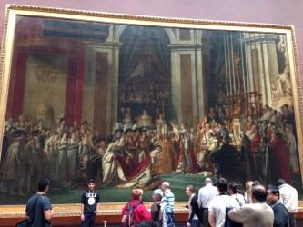 The Coronation of Napoleon david paris louvre
