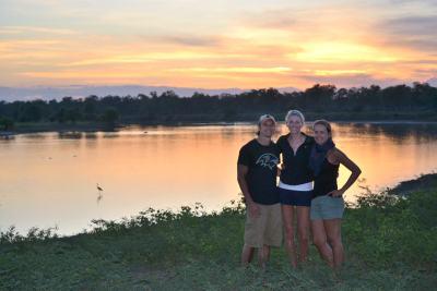 south luangwa sunset zambia