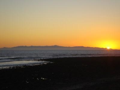 ventura california beach sunset