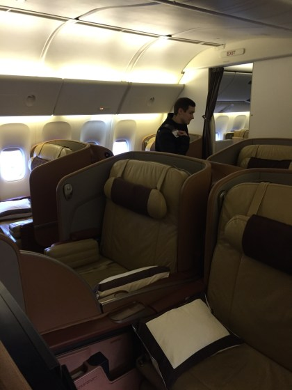 Singapore Airlines First Class
