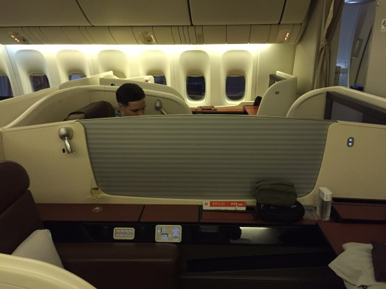 japan airlines jal first class f