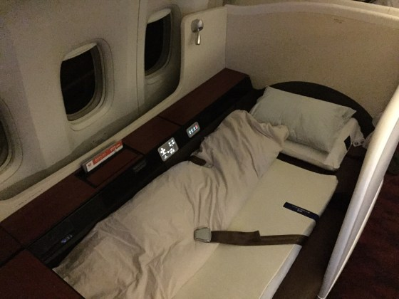 jal japan airlines first class f