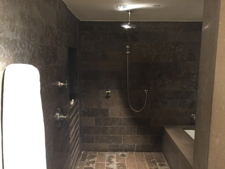 park hyatt washington DC junior suite shower