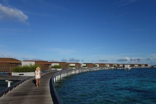 hotel review park hyatt maldives male beach resort luxury island overwater villa pool