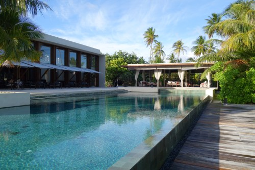 hotel review park hyatt maldives male beach resort luxury island overwater villa pool breakfast