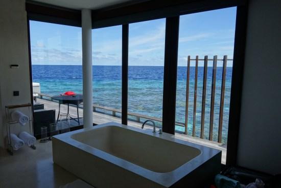 park hyatt maldives review hotel over water park villa bungalow private diamond snorkeling reef