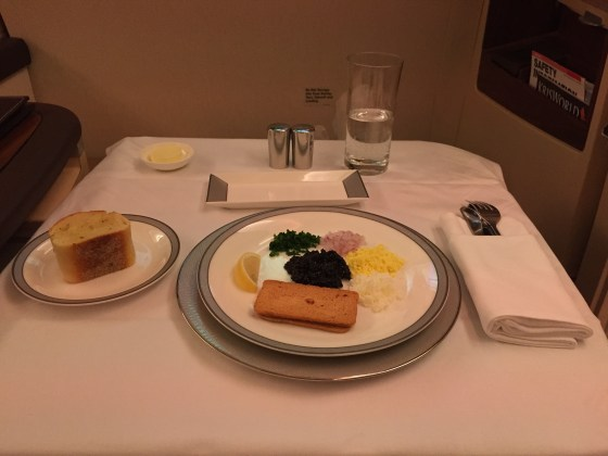 Singapore Airlines Suites Class JFK-FRA