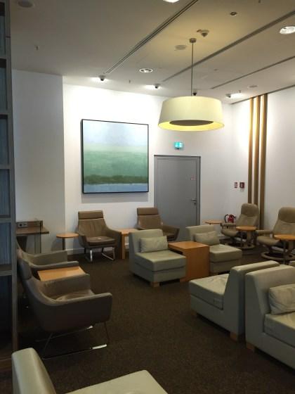 JAL Sakura Lounge Frankfurt