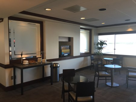 american airlines admirals club terminal B C review lounge business first class CLT charlotte airport