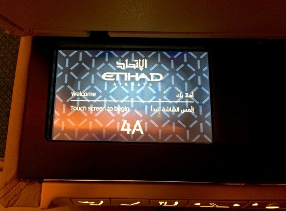 Etihad Airways First Apartment LHR-AUH