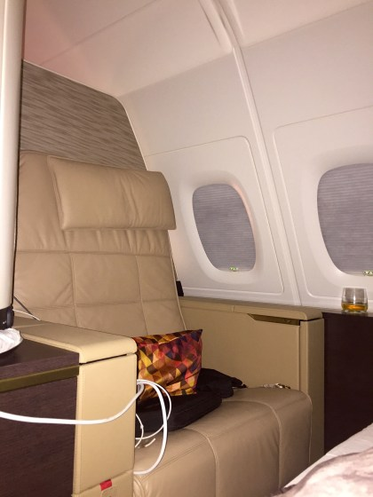 Etihad Airways First Apartments LHR-AUH