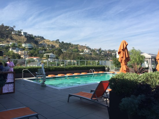hotel review hyatt andaz west hollywood los angeles sunset suite riot house pool
