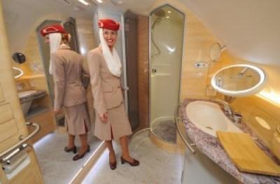 emirates shower