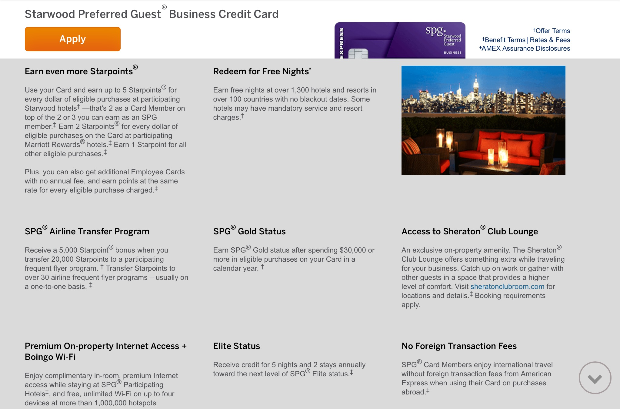 don t use your marriott credit card ever