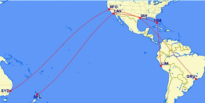 lufthansa-3-region-award-chart-gcmap-australia-example - Points with