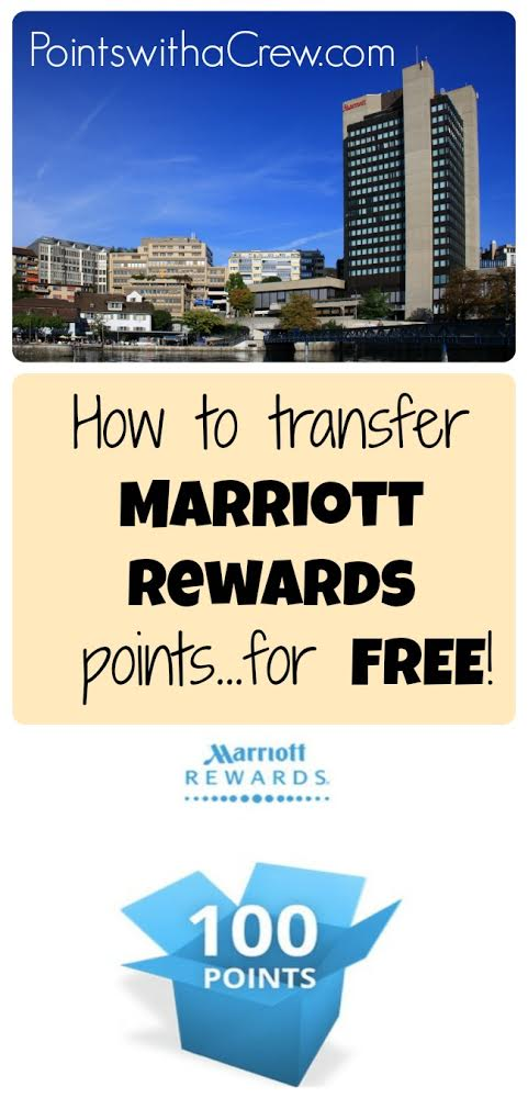How to combine and transfer Marriott points (for free!) - Points