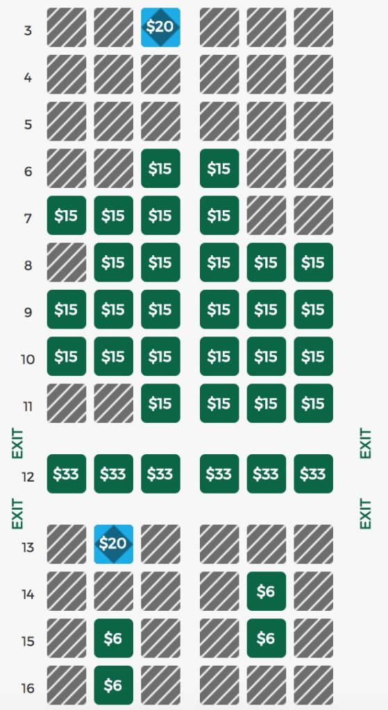 How to get a good seat on Frontier (for free) - Points with a Crew