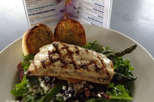 Fish Salad from Brennecke's Restaurant