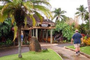 Keoki's Paradise restaurant in poipu