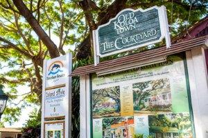 Old Koloa town in Poipu Kauai