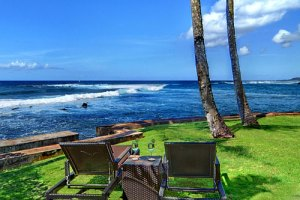 Beachfront vacation rental from The Parrish Collection Kauai
