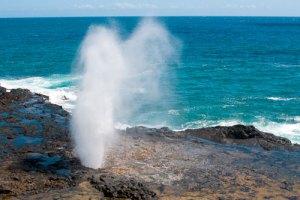 Spouting horn kauai