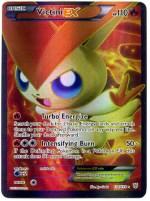 Pokemon Victini Ex Full Art Card