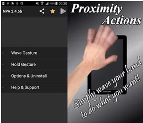 Proximity Actions App