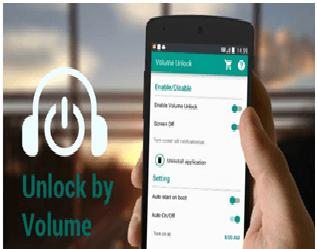 Volume unlock power button app