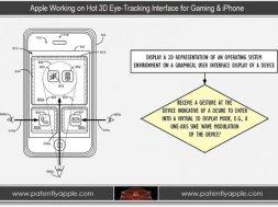Neues Patent für Apple 3D gaming und Augen-Tracking