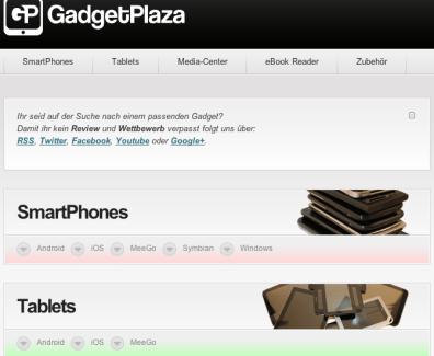 GadgetPlaza ist online – zum Start mit grossem Wettbewerb