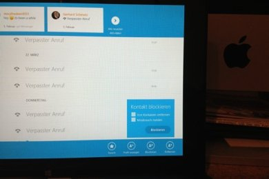 Windows 8 - Skype Kontakte blockieren