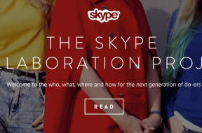 Skype Collaboration Project