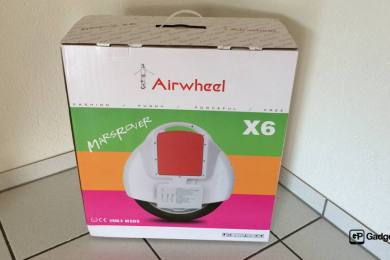 Video - neustes Gadget im Haus «Airwheel X6» & Review Ankündigung