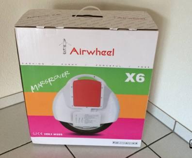 Video – neustes Gadget im Haus «Airwheel X6» & Review Ankündigung