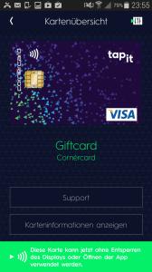 Tapit - mit NFC aufm Smartphone bezahlen dank der Swisscom