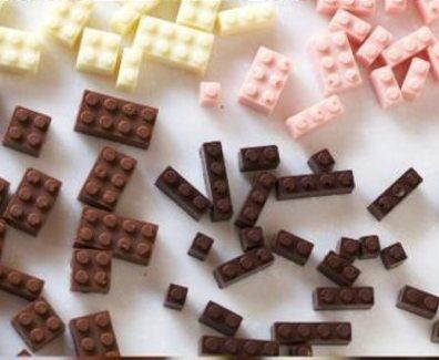 LEGO aus Schoggi (Schokolade)