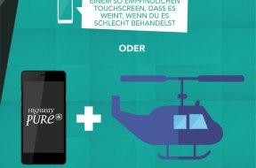 Drei mal CHF 500.- & 15 Smartphones sowie Zubehör mit Wiko «Make the Difference» gewinnen
