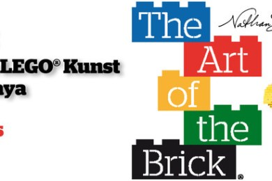 The art of the Brick – Ausstellung ab dem 25.09.2015