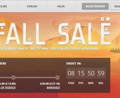 GOG.com Herbstsale gestartet